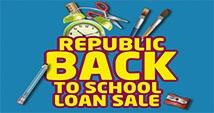 Back To School Loan Sale